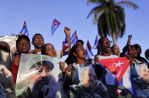 La larga presencia de Fidel