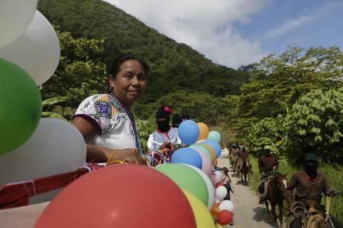'Marychuy' arranca gira con el EZLN rumbo al 2018