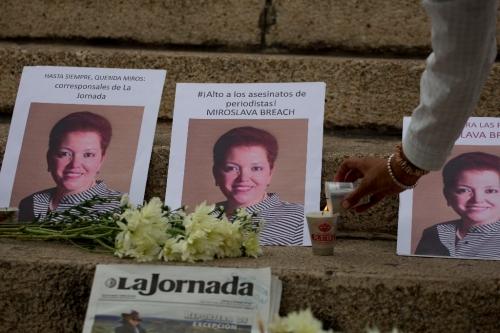 El asesinato de Miroslava Breach, inmenso dolor