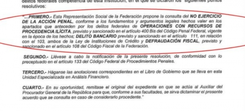 PGR da carpetazo a denuncia contra César Duarte por lavado; llama UC a la desobediencia civil